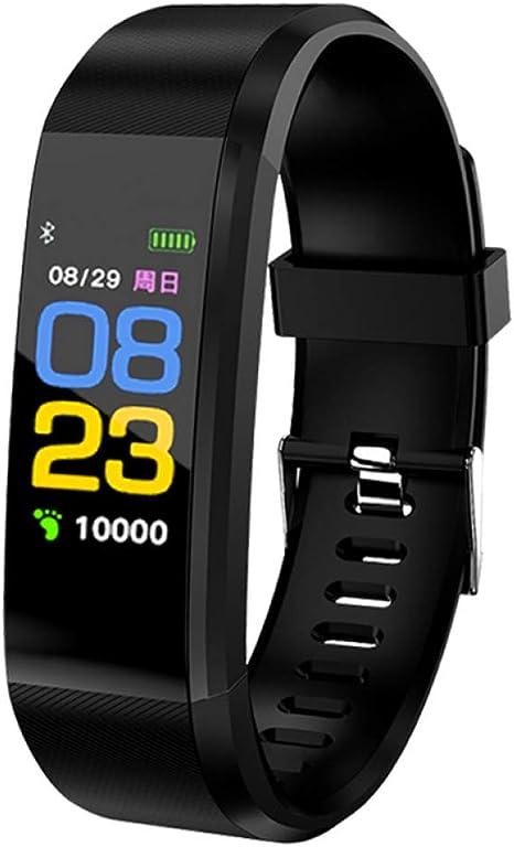 HCBZVN Pulsera Actividad, Reloj Digital de Fitness a Prueba de ...