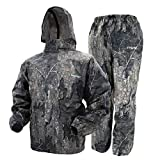 Frogg Toggs Frogg Toggs Polly Woggs Waterproof Breathable Rain Suit, Youth, Realtree Timber, Size Small Polly Woggs Waterproof Breathable Rain Suit, Realtree Timber, Small