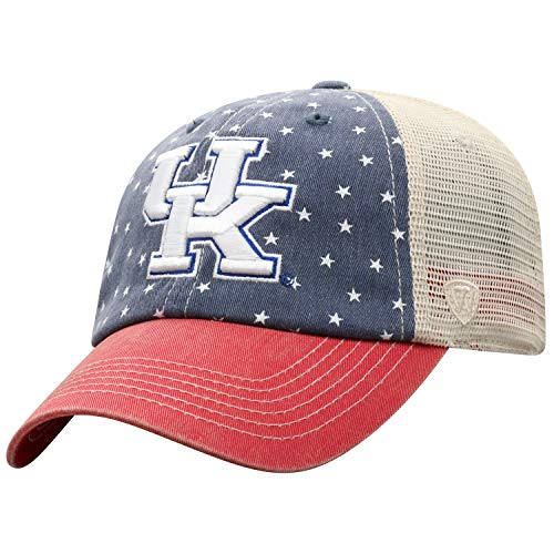 Top of the World Kentucky Wildcats Men's Hat Icon, Navy, Adjustable ()