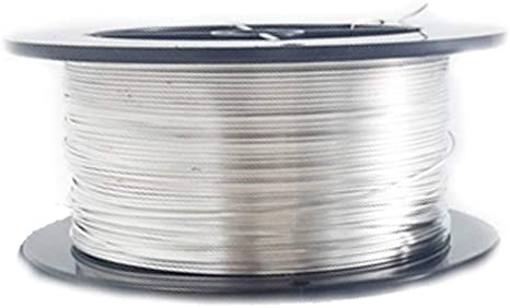 30 Ga Solid Copper Soft Round Wire  1 Oz 220 Feet On Spool Bare Copper wire