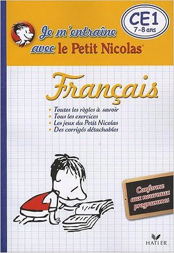 Français CE1 : Je m'entraîne avec le Petit Nicolas pdf epub