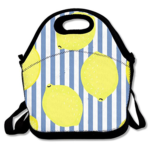 MAGGIE SALAS Lemon Summer Fruit Nice Bag Lunch Bags Bags Travelling Bag Picnic Bag Storage Bag Backpack For Children Diagonal Bag Handbag