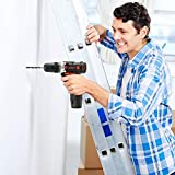 Jaer Cordless Power Drill and Home Tool Kit, Set