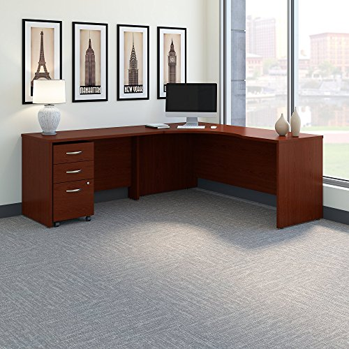 Bush Business Furniture SRC086MASU Office Suite, Mahogany by Bush Business Furniture