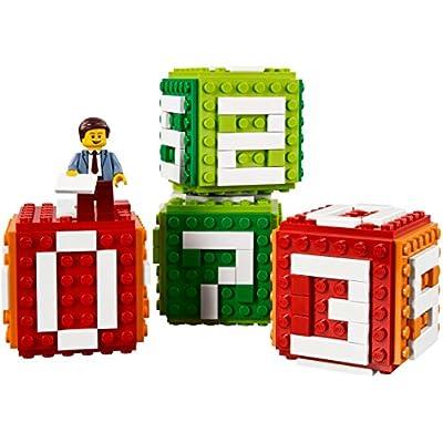 LEGO Iconic Brick Calendar (40172): Toys & Games