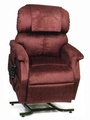 Petite Lift Chair (Golden Technologies PR-505JP MaxiComforter Lift Chair - Size Junior/Petite - Cabernet)