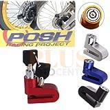 Trava De Disco Moto Bike anti furto Proteção Cadeado Freio Universal