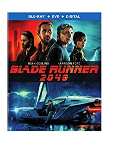 Cover Image for 'Blade Runner 2049 [Blu-ray + DVD + Digital]'