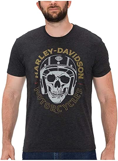 Charcoal Details about  /Harley-Davidson Men/'s Great Humility Short Sleeve Poly-Blend T-Shirt