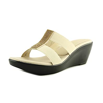 e1bcd191a1a1 Image Unavailable. Image not available for. Color  athena alexander aisling  Women US 9 Tan Wedge Sandal