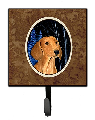 - Caroline's Treasures SS8379SH4 Starry Night Dachshund Leash Holder or Key Hook, Small, Multicolor