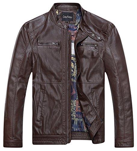 Oversized Motorcycle Jacket - 3