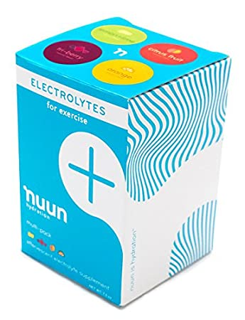 New Nuun Active: Hydrating Electrolyte Tablets, Citrus Berry Mix, Box of 4 Tubes by New Nuun Active: Amazon.es: Electrónica