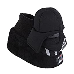 Star Wars Toddler Boys Darth Vader Slippers Sock Top House Shoes 7-8
