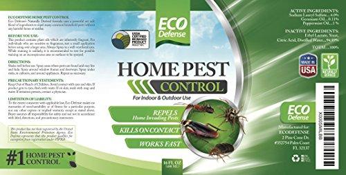 Eco Defense Home Pest Control Spray Usda Biobased