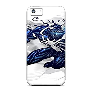 Anti-Scratch Hard Phone Covers For Iphone 5c With Provide Private Custom Trendy Venom Skin DannyLCHEUNG