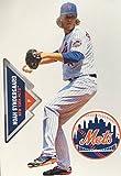 "Noah Syndergaard Mini FATHEAD + New York Mets Logo + Bonus Graphic, Total of 3 Official MLB Vinyl Wall Graphics 7"" INCH"