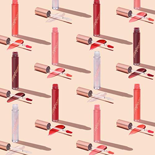 JENNYHOUSE World Volume Coating Tint 4.5ml - Long Lasting Shining Moisture Lip Tint with Matte Finish, Vegan, Natural Ingredients, Non-Sticky, Waterproof, Non-Smudging #04 FRANJINI PLUM 6