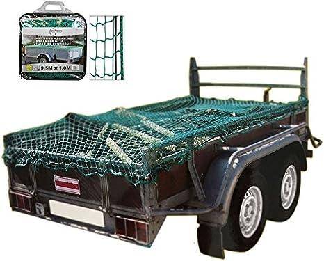 Auto Pkw 350 X 180cm Anhängernetz Zur Ladungssicherung Transportnetz Gepäcknetz Abdecknetz Für Autoanhänger Küche Haushalt