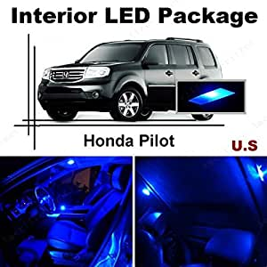 ameritree blue led lights interior package blue led license plate kit for honda. Black Bedroom Furniture Sets. Home Design Ideas