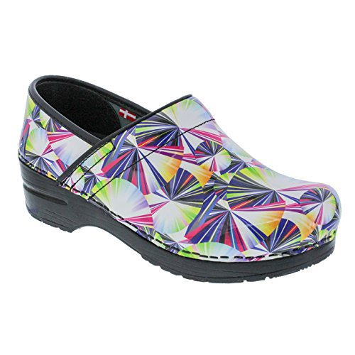 Image of Sanita Women's Original Pro. Geo Clog, Multi, 36 M EU (5.5-6 US)