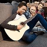 JMFinger Full Size 41 Inch Cutaway Acoustic Guitar