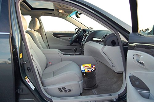 zone tech universal traveling portable car trash can black import it all. Black Bedroom Furniture Sets. Home Design Ideas