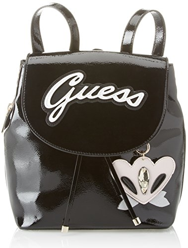 W cm H 13 Shine Hobo 5x29x27 Handbag Black Black Bags Backpack x Guess Women��s L paPATq