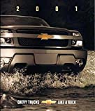 ORIGINAL 2001 CHEVROLET CHEVY PICKUP SUV & VAN FULL LINE DEALER SALES BROCHURE - Silverado, Avalanche, S-10, Trailblazer, Suburban, Tahoe, Blazer, Tracker, Astro, Chevy Express
