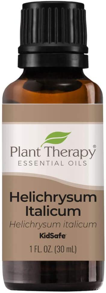 Plant Therapy Helichrysum Italicum Essential Oil 100% Pure, Undiluted, Natural Aromatherapy, Therapeutic Grade 30 mL (1 oz)