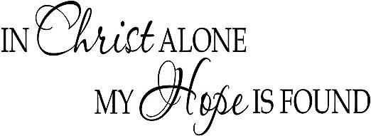 Amazon.com: VWAQ- in Christ Alone My Hope is Found ...