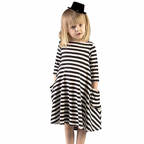 Buy black and white striped long sleeved bodycon dress - 3