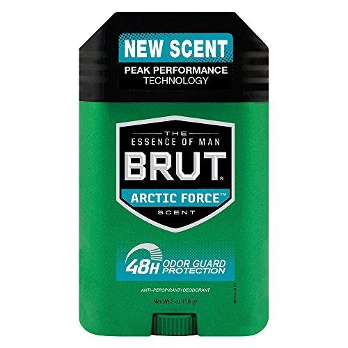 Brut Anti-Perspirant Plus Deodorant, Artic Force, 2 Ounce Pack of 3