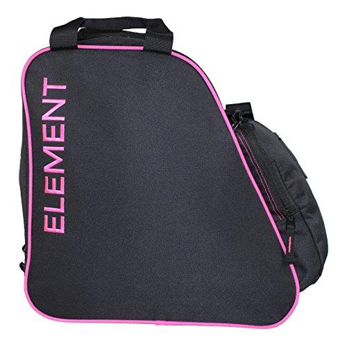 Element Boot Bag Snowboard Ski Boot Bag Pack Black Pink