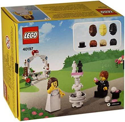 LEGO® Set 40197 Minifiguren-Hochzeits-Set mit 2 Figren viel Zubehör