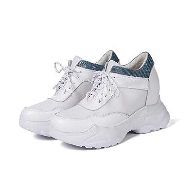 abb06d239656c Amazon.com | Zarbrina Womens Wedges Sneakers Lace Up Air Mesh Hidden ...