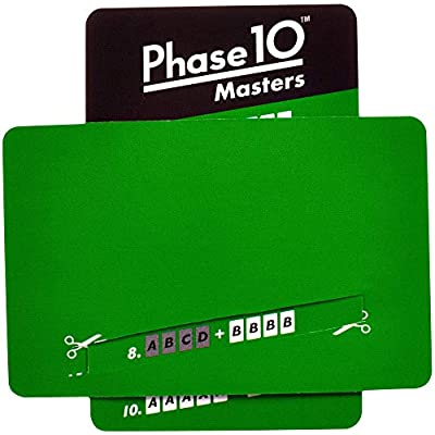 Mattel Games FPW34 Phase 10 Masters Card Game: Toys & Games