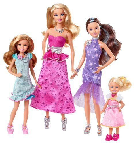 Barbie and Her Sisters in a Pony Tale Gala Gown Giftset Toy, Kids, Play, Children