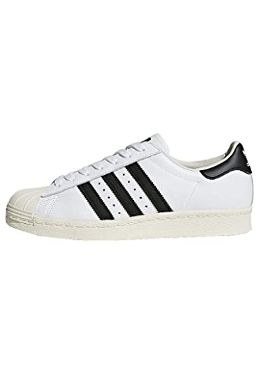 newest 516d0 a0791 Image Unavailable. Image not available for. Color  adidas Superstar 80s  Shoes