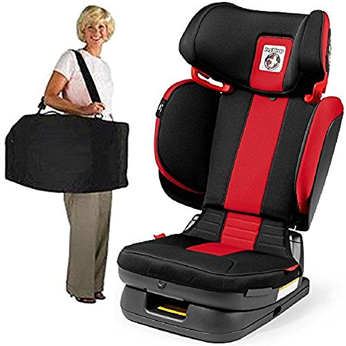 Peg Perego Carry Viaggio Flex 120 Child Booster Seat with Carrying Bag Monza