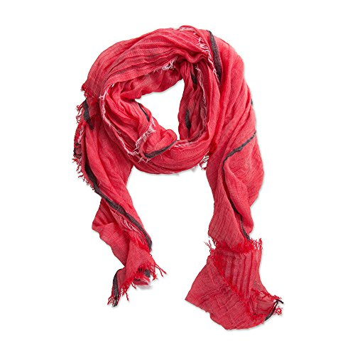 (Tickled Pink Women's Viscose Scarf, Lightweight Scarf Shawl, 80x40