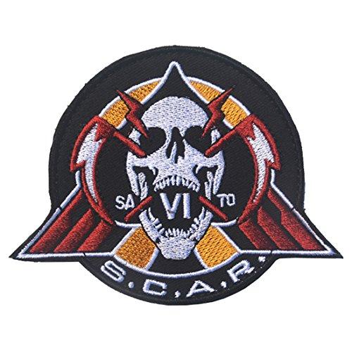 CALL OF DUTY SCAR w Skull Logo 3.15