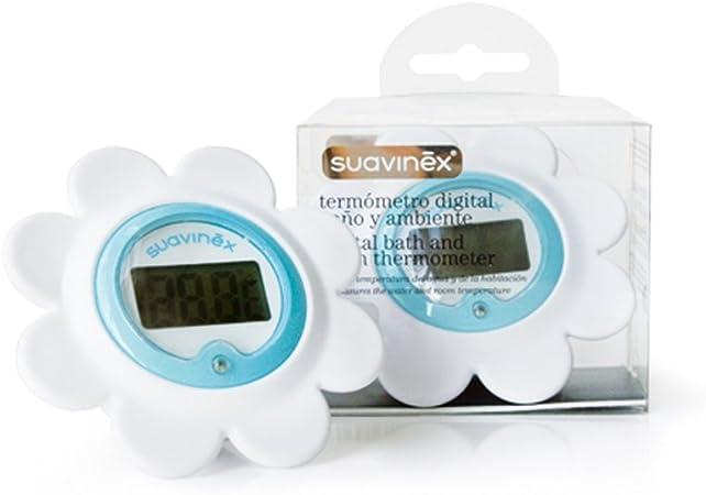 Suavinex 3800200 - Termómetro digital para baño y habitación: Amazon.es: Bebé