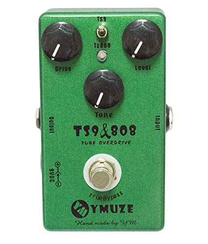 YMUZE Hand-made TS9 TS808 Tube Overdrive Guitar Effect Pedal True Bypass ()