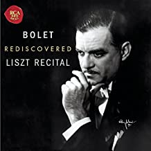 Rediscovered Liszt Recital - Never before studio recordings (1972/3)