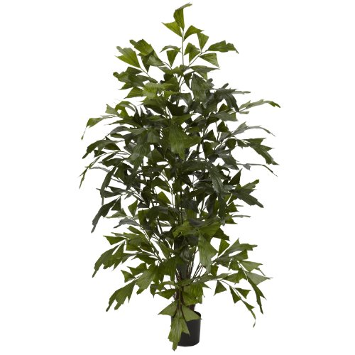 Nearly Natural 5330 Fishtail Palm Silk Tree, 4.5-Feet, Green