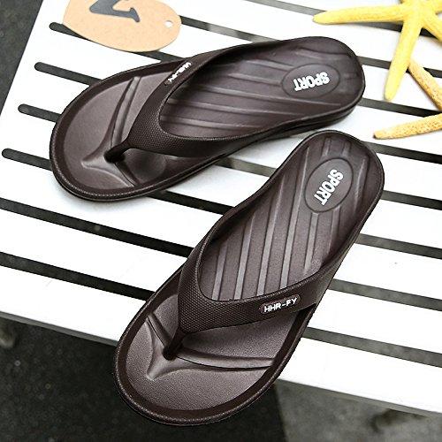 slittamento sandali marrone alla usura Uomini scarpe personalizzati spiaggia fankou e raffreddare anti outdoor estate 44 da estate moda CXF51qHw