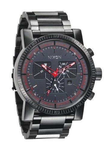 Nixon Magnacon Chronograph Black Dial Mens Watch A154001