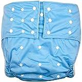 lukloy Hombres Adultos de pañales para incontinencia cuidado ropa interior de protección – doble apertura bolsillo
