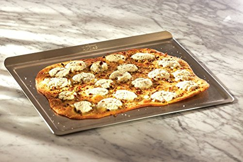All-Clad 9003TS 18/10 Stainless Steel Baking Sheet Ovenware, 14-Inch by 17-Inch, Silver by All-Clad (Image #2)